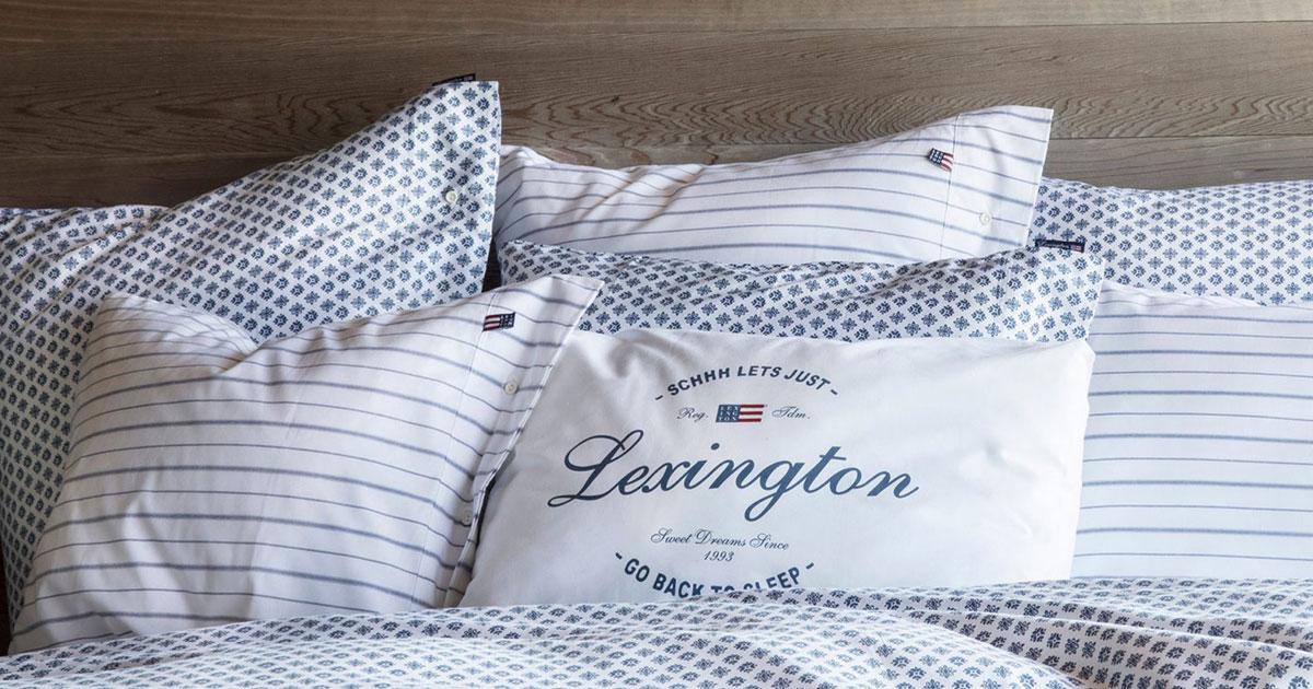 Lexington – Sängkläder 38a96854e9621